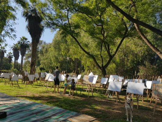 אמנים קטנטנים- עיריית רמת גן