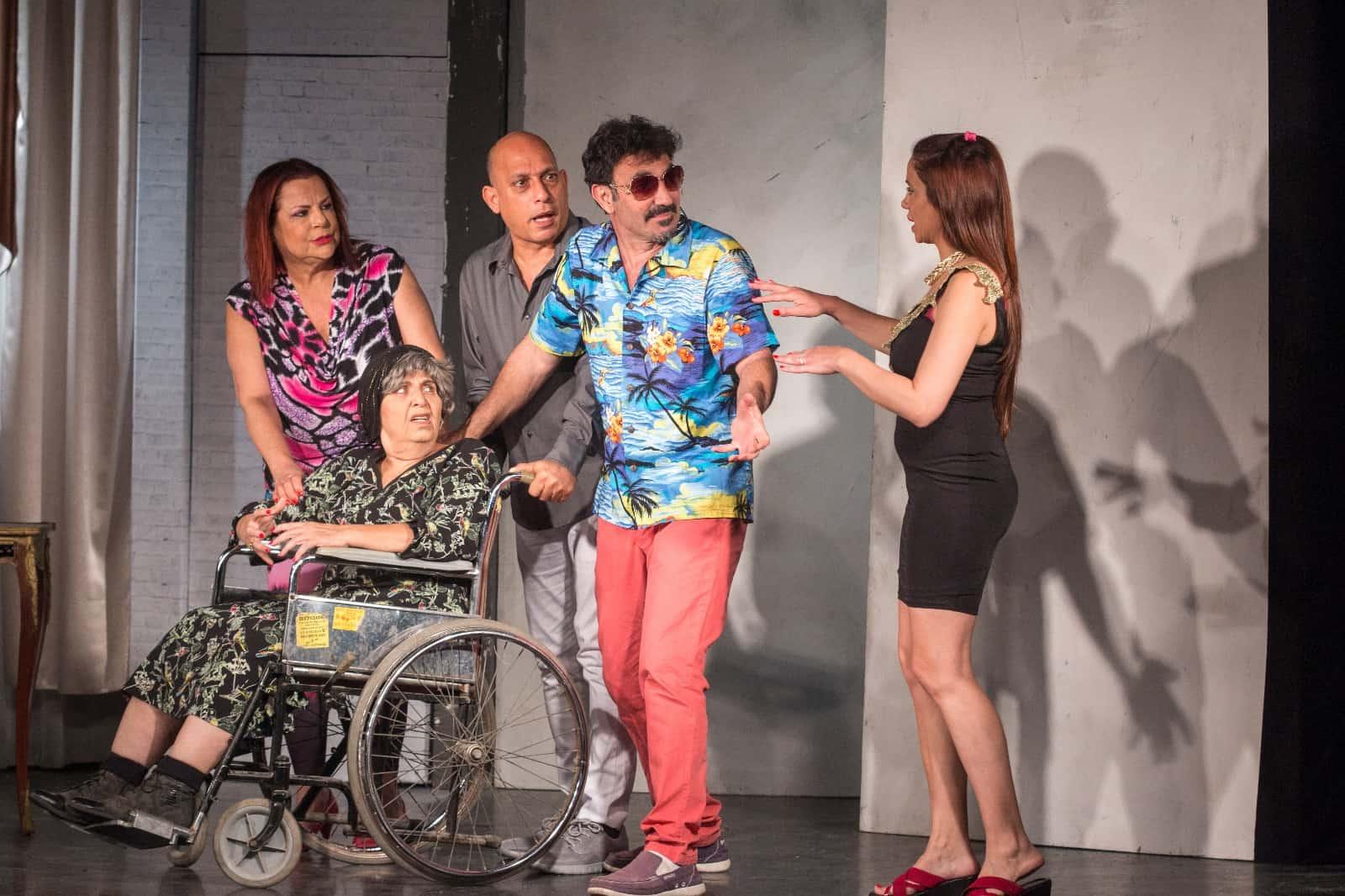מתוך ההצגה הדודה של מנש, צילום: באדיבות תיאטרון בימתיים