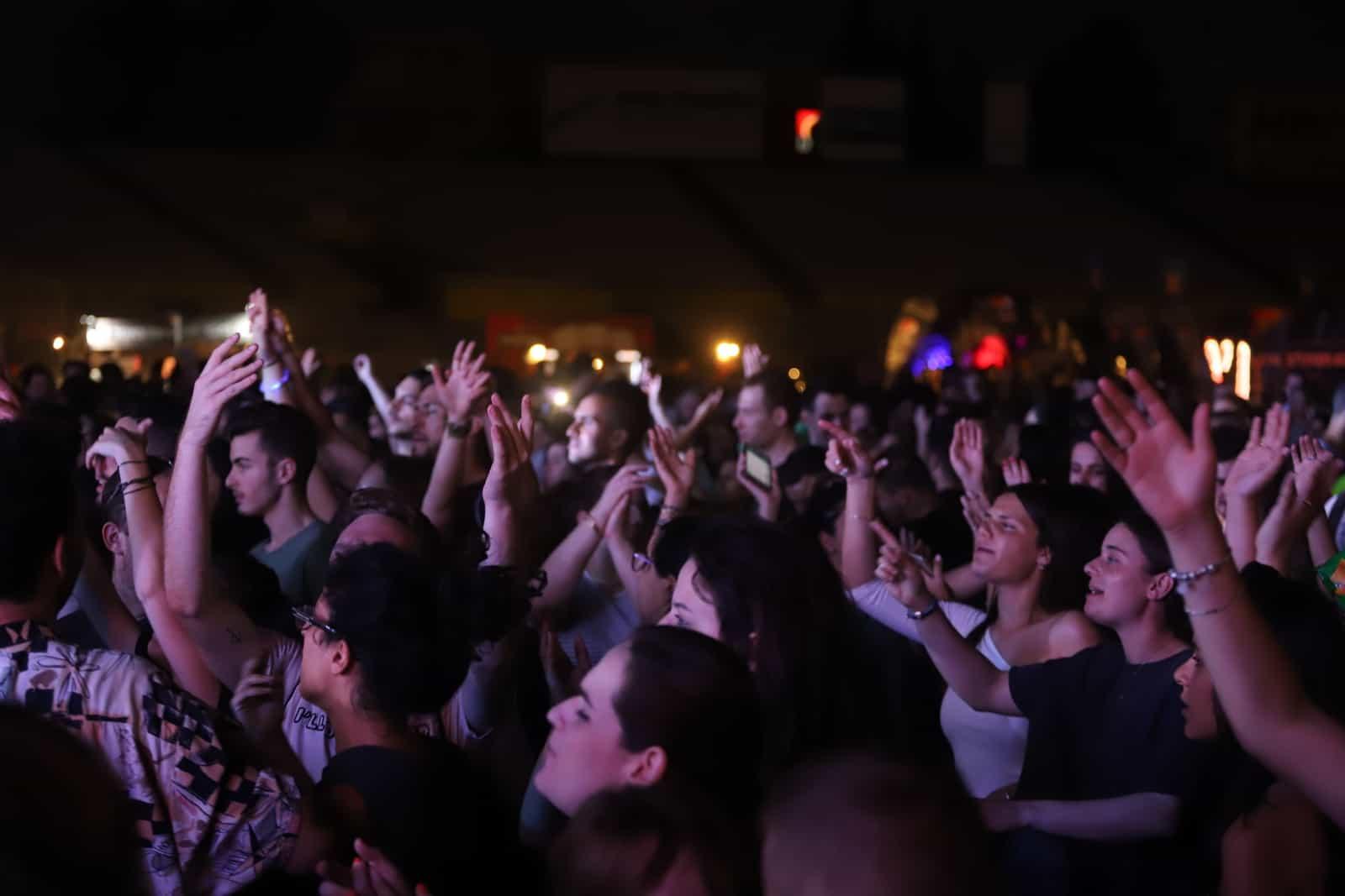הקהל היה בטירוף, צילום: איתן אלחדז