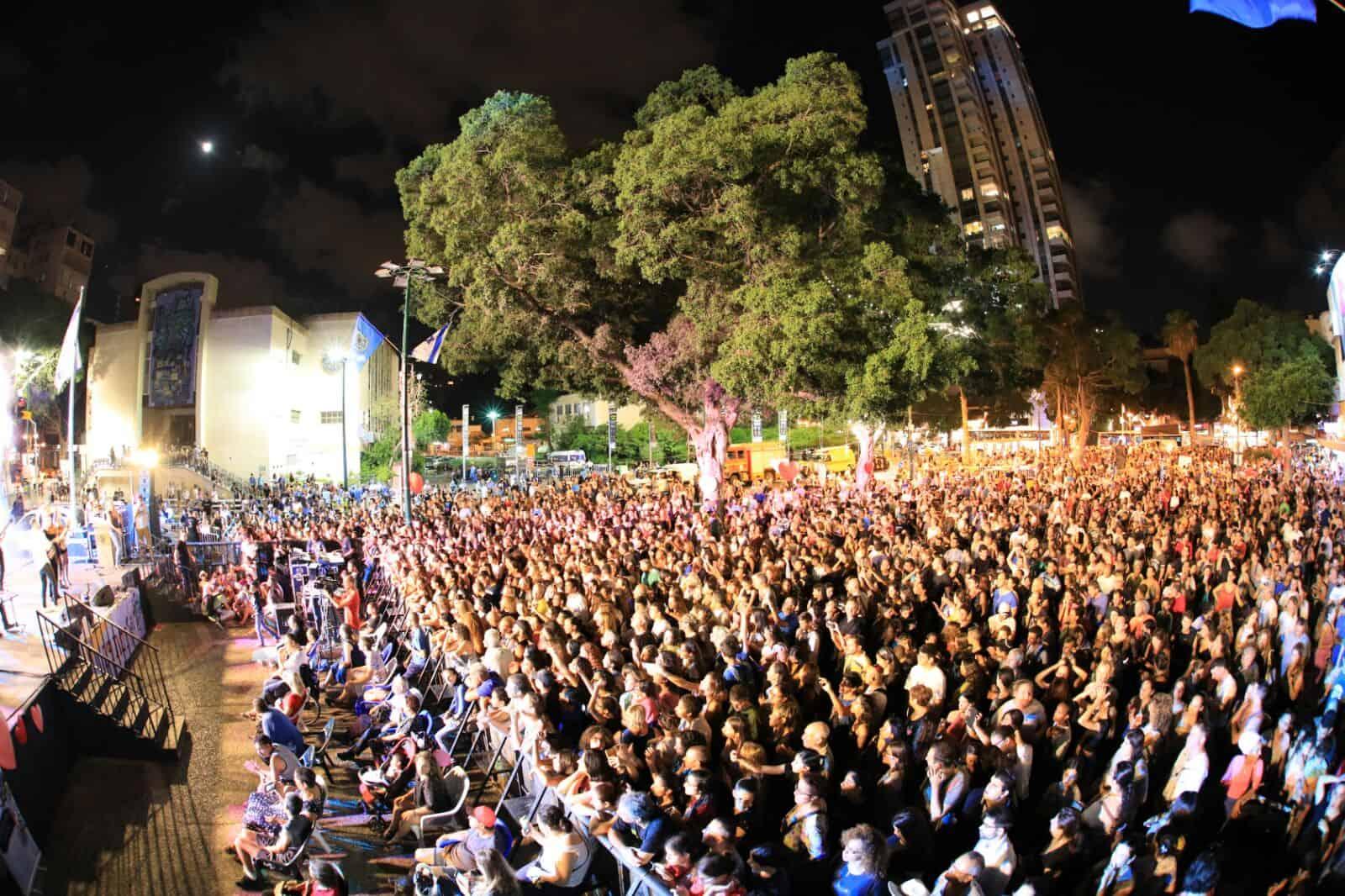 הקהל הצביע ברגליים, צילום: שלומי מזרחי