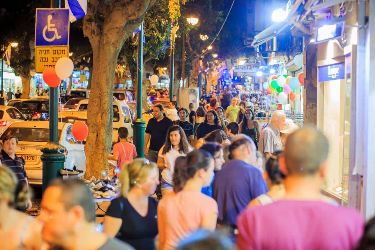 רחוב ביאליק ברמת גן, צילום: באדיבות דוברות עיריית רמת גן