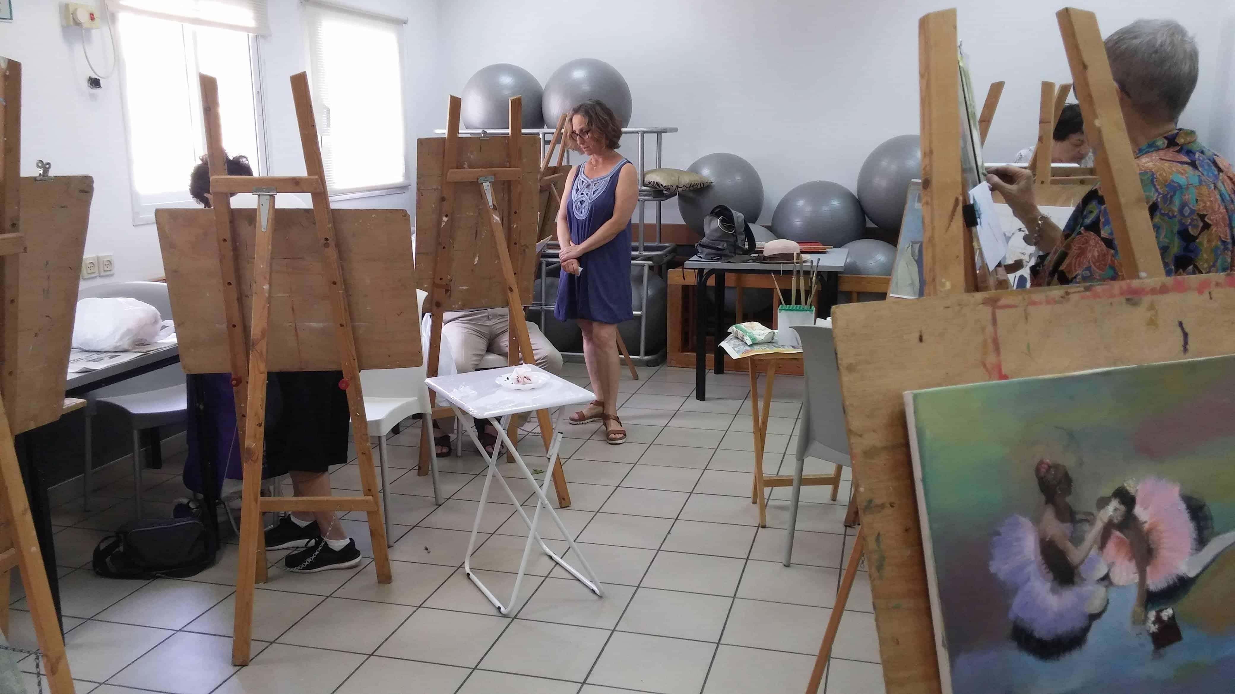 פעילות במועדון הקשישים, צילום: גלי דאו