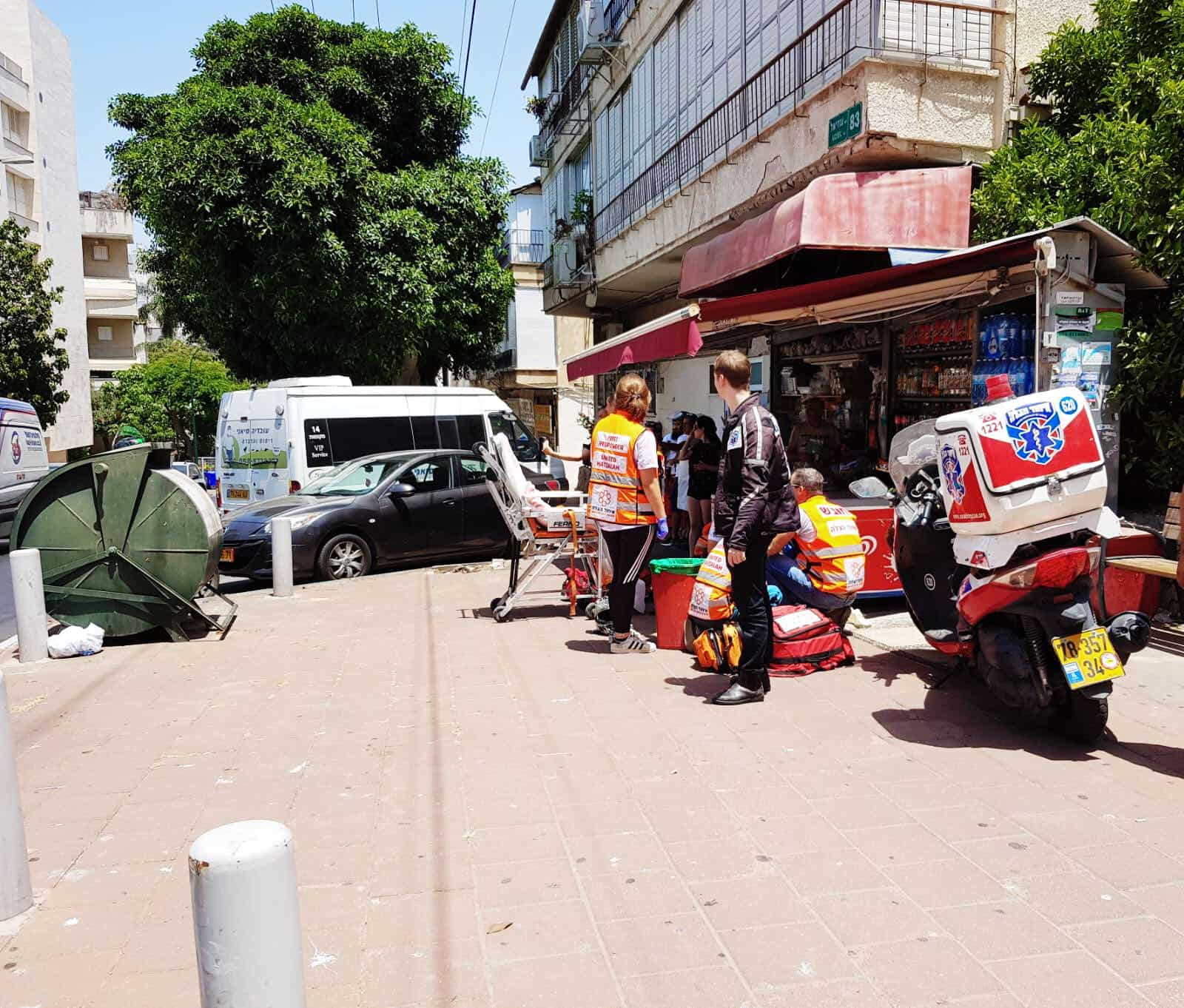 2 פצועים קל קיבלו טיפול במקום, צילום: דוברות איחוד הצלה