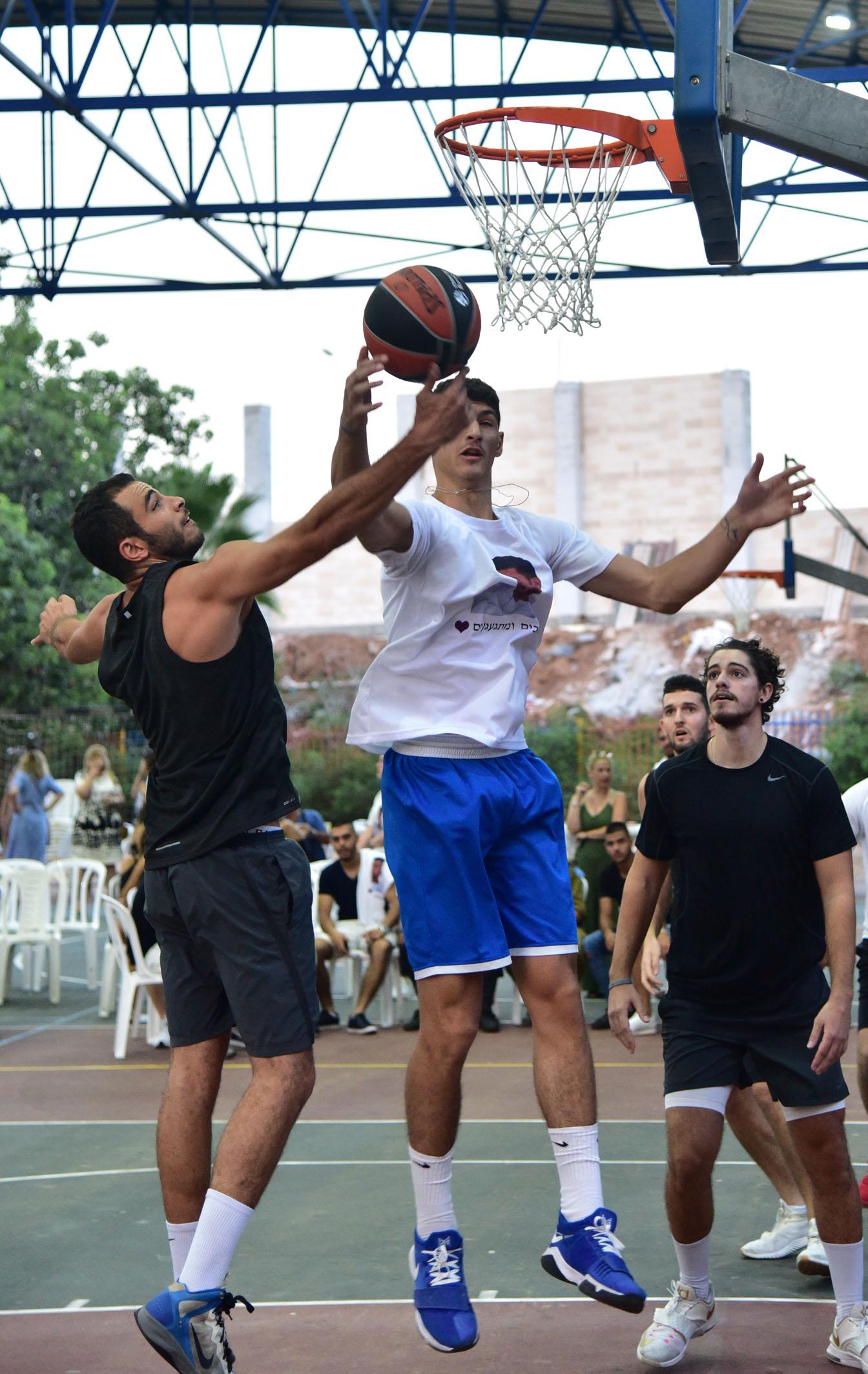 טורניר כדורסל לזכרו של הראל איתן. צילום: ישראל מלובני