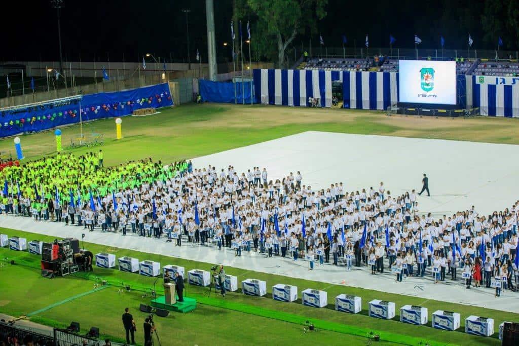 התלמידים יפגינו את כישוריהם על הדשא, צילום: באדיבות דוברות עיריית רמת גן