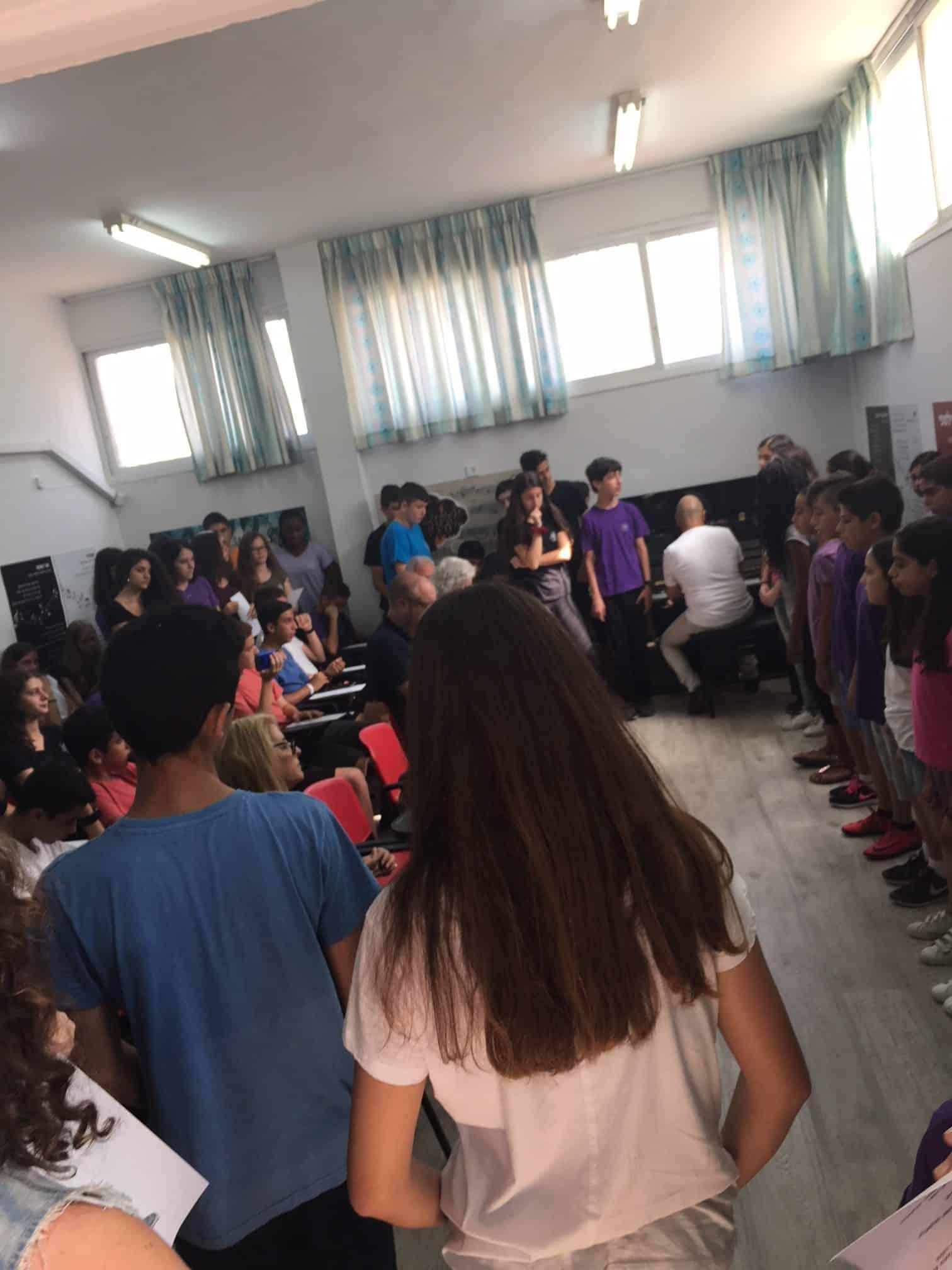 סגירת מעגל בבית ספר גבעולים, צילומים: באדיבות המשפחה