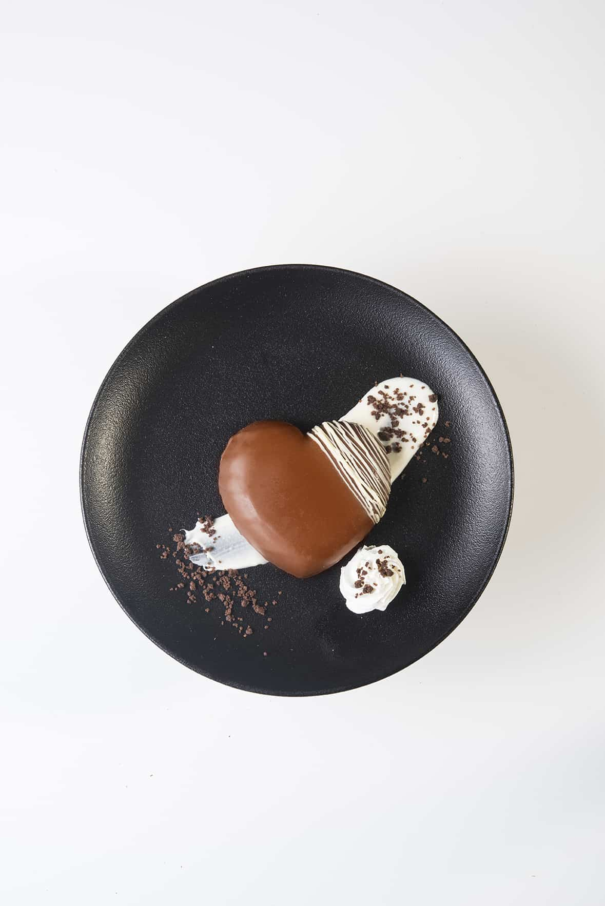 לב של שוקולד, צילום: בן יוסטר