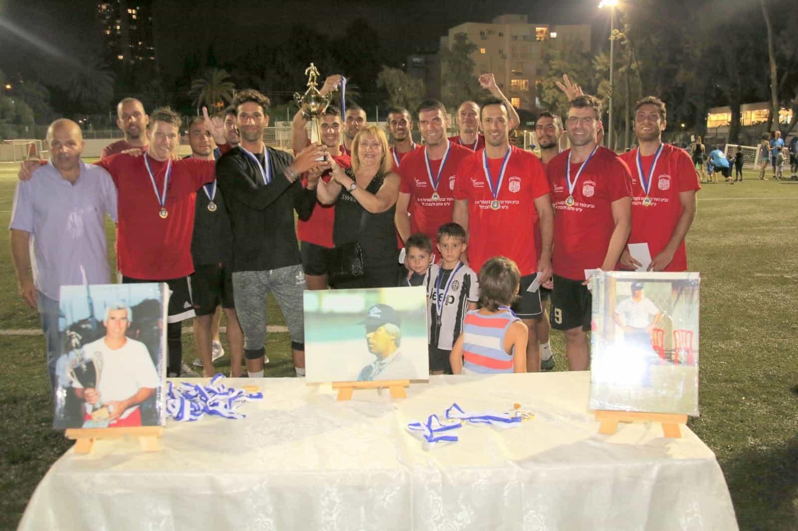 חוגגים את הניצחון, צילום: העמותה לקידום הספורט