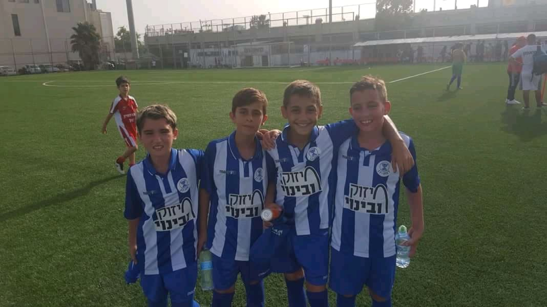 """כוכבי המחר של בית""""ר רמת גן, צילום: באדיבות בית""""ר רמת גן מחלקת הכדורגל"""