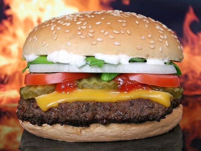 המבורגר מומלץ באזור גבעתיים (צילום: pixabay)